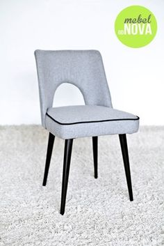 Krzesło muszelka PRL lata '60 vintage