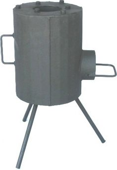 A rocket stove achieves efficient combustion of the fuel at a high temperature by ensuring that there is a good air draft into the fire, controlled use of fuel, complete combustion of volatiles, and efficient use of the resultant heat. (http://en.wikipedia.org/wiki/Rocket_stove)