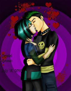 So, here's the love triangle Duncan, Courtney and Gwen. I love Duncan and Gwen so PLEASE respect my work and no haters ! Total Drama Island Duncan, If Only You Knew, Lovers And Friends, Funny Movies, Drama Series, Cartoon Drawings, Anime, Joker, Fan Art