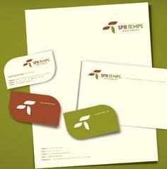 Business Card, Letterhead, Envelope