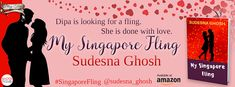 #MySingaporeFling #Romance Spotlight: My Singapore Fling by Sudesna Ghosh Another mushy love story? Sudesna Ghosh's first Romance novel: My Singapore Fling. What is so special about this fling? Lets find out more ;)  Book Tour by The Book Club  http://grabthebook.blogspot.com/2017/12/spotlight-my-singapore-fling-by-sudesna.html