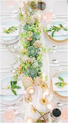 pineapple petals studio Wedding Table Garland, Wedding Centerpieces, Table Arrangements, Wedding Day, Wedding Stuff, Marry Me, Beautiful Bride, Table Settings, Table Decorations