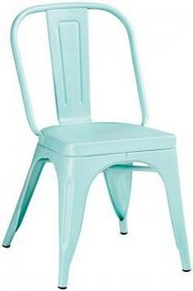 Cute color for this classic chair!