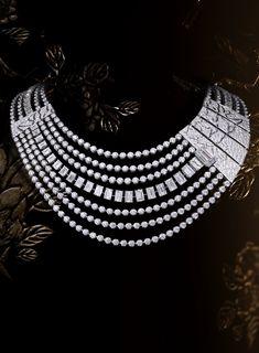 "2b7b2c2bbe12 ""Évocation florale"" collier  Chanel  ChanelJoaillerie  Coromandel  2018   FineJewellery  HighJewelry  HauteJoaillerie  Diamond"