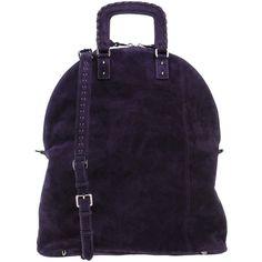 Barbara Bui Handbag (40.130 RUB) ❤ liked on Polyvore featuring bags, handbags, shoulder bags, purple, studded handbags, zip shoulder bag, zip purse, studded purse and shopper handbags