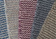 Eco loom-hooked rugs!  Crossweave in 5 colorways. Thick, plush, like a hand-made cotton sweater for your feet.  hookandloom.com