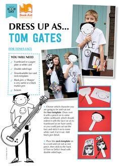 "Dress Up as ""Tom Gates"" - World Book Day DIY costume idea!"