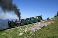 Schafbergbahn (cog railway) St. Wolfgang, Salzburg/Upper Austria