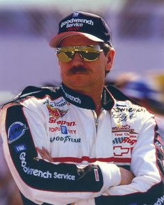 "Dale Earnhardt ""The winner ain't the one with the fastest car, it's the one who refuses to lose"""