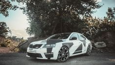 Skoda Octavia Mk3 SEXY RS Car Wrap, Cars And Motorcycles, Camo, Vehicles, Sexy, Wrapping, Wicked, Camouflage, Military Camouflage