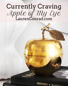 Currently Craving: Apple of My Eye | Lauren Conrad's Favorite Apple Items