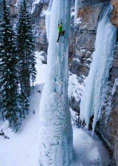 100 feet ice pillar, Colorando