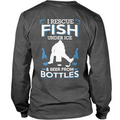 I RESCUE FISH UNDER ICE&BEER FROM BOTTLE, Order HERE ==> https://www.sunfrog.com/Jobs/119055418-557215853.html?53624, Please tag & share with your friends who would love it, redhead sayings shirts, funny #saying, romantic #saying #geek, #science, #nature  love saying, saying tumblr, true saying, old saying, saying about friends  #quote #sayings #quotes #saying #redhead #ginger #legging #shirts #tshirts #ideas #popular #everything #videos #shop