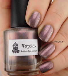 Vapid Lacquer Problem Child | Be Happy And Buy Polish https://behappyandbuypolish.com/2016/07/02/vapid-lacquer-problem-child-swatch-review/