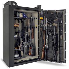2014 Browning US37F Gun Safe 23 43 Gun Tactical Gun Safe   US Made #