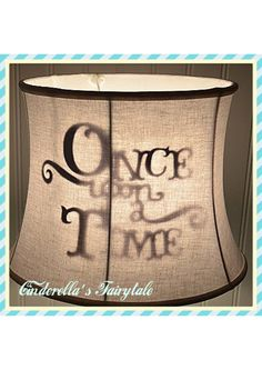 Once Upon a time lamp shade fairytale princess Disney Kids Shadow lamp shade Happily Ever After Lamp Shade Shabby Chic Bedrooms, Trendy Bedroom, Girls Bedroom, Bedroom Ideas, Baby Boy Rooms, Little Girl Rooms, Disney Lamp, Picture Room Decor, Fairy Tale Crafts
