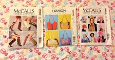 McCalls Sewing Patterns Fashion Accessories Kids Shoes Purse Design Crafts New #McCalls