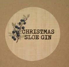 CHRISTMAS SLOE GIN, STICKERS, BOTTLE LABELS, HOMEMADE , HOME BREW LABELS | Home, Furniture & DIY, Food & Drink, Beer & Wine Making | eBay!