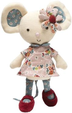 Amazon.com: Jellycat Gorgeous Girly Mouse: Toys & Games
