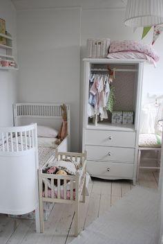 Julia's White Dreams - pretty girl's room, Sweden