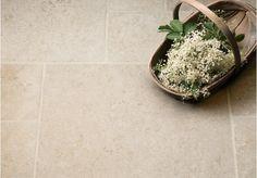 Light Jerusalem Tumbled Limestone Tiles   Floors of Stone