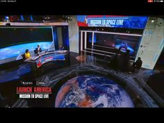 ABC News SpaceX Nasa - Launch America Screen Design, Abc News, Arcade Games, Over The Years, Nasa, Discovery, Product Launch, America, Usa