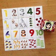 """""""Pia Polya Havyanlar, Dokular ve Sayılar"""" Rakam sayısı kadar hayvan'nın olduğu kartları, doku yardımı ile eşleştirmeyi öğretebileceğiz güzel bir oyun. 2 Safya A3 Kartona çıkış alabilirsiniz. 24ay sonrası çocuklar için öneriyorum."""