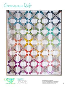 Chromascope Quilt Block Tutorial   Sew Mama Sew   Outstanding sewing, quilting, and needlework tutorials since 2005.