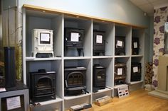 Visit our fireplace showroom and you'll get a warm welcome, and expert advice in supplying and installing wood burning and multi-fuel stoves. Focus Fireplaces, Fireplace Showroom, Multi Fuel Stove, Fire Surround, Log Burner, Gas And Electric, Gas Fires, Stoves, Wood Burning
