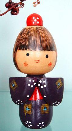 Kokeshi doll  www.AsianSkincare.Rocks