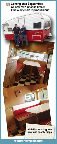 LOVE this! The Canned HAM is BACK! Shasta 75th Anniversary Trailer! 90% Legit Old School. Available in September! 15K to 17K. shasta-airflyte-trailer