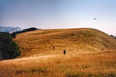 """Przed nami #Arjana. Foto by Andrzej Cichuniak  Wreszcie ruszyliśmy płaskowyżem przed siebie- na północ, gdzie rysowała się sylwetka pierwszej """"poważnej"""" góry – Arjany. #cernei #rumunia #góry #trekking #wypadyiwyrypy"""
