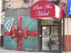 A Harlem hotel's holiday gift for New York City Seven Years Old, Park Avenue, Hotel S, Holiday Gifts, New York City, Street Art, Neon Signs, Seasons, Wanderlust