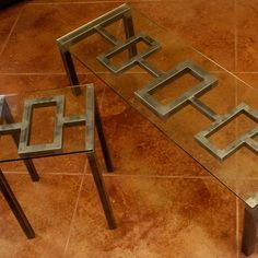 Architect Coffee Table Set by Boltz | Coffee Tables | Boltz Steel Furniture