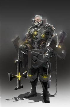 Future Templar , Yue She on ArtStation at http://www.artstation.com/artwork/future-templar