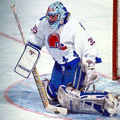 Hockey Goalie, Ice Hockey, Quebec Nordiques, Nhl Players, Buy Weed Online, National Hockey League, Neko, Baseball Cards, Sports