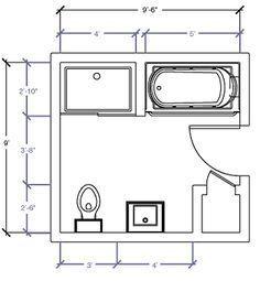 Layout Idea For Bathroom With Adjustments To Be Made Bathroomdesign10x10 Bathroom Addition Bathroom Floor Plans Bathroom Design