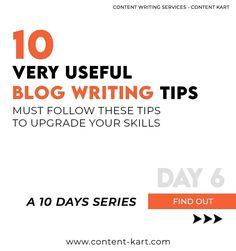 Blog Writing Tips, Marketing Calendar, Contentment, Writing Services, 10 Days, Content Marketing, Writer, Templates, Website