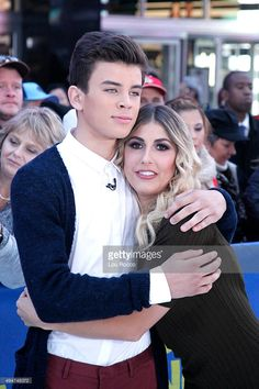 Hayes Grier and Emma Slater of ABC's 'Dancing with the Stars' are guests on 'Good Morning America,' 10/27/15, airing on the ABC Television Network.