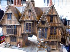 Would love to know who the builder of this wonderful Tudor building is...