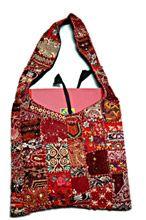 Old Cloth Indian Patchwork Bag