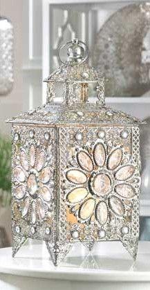 Crown Jewels Candle Lantern Centerpieces - Wedding Event Centerpieces