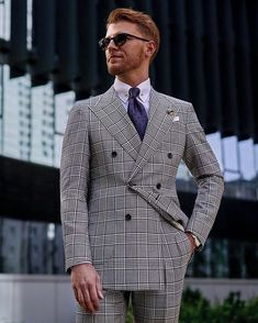 Double Breasted Suit, Mens Suits, Suit Jacket, Mens Fashion, Jackets, Medium, Instagram, Dress Suits For Men, Moda Masculina