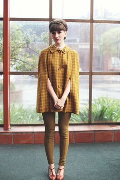1960s tweed // I can't even.
