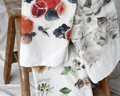 Mix and Match, Tea Towel, Kitchen Towel, Dish Towel, Flour Sack Tea Towel Dish Towels, Tea Towels, Flour Sack Towels, Fabric Softener, Watercolor Design, Mix N Match, Kitchen Towels, Great Gifts, Gift Ideas