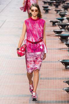Défilé Kenzo prêt-à-porter printemps-été 2014, Paris. #PFW #fashionweek #runway