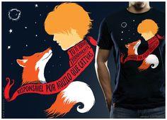 Camiseta Pequeno Príncipe - Estampas