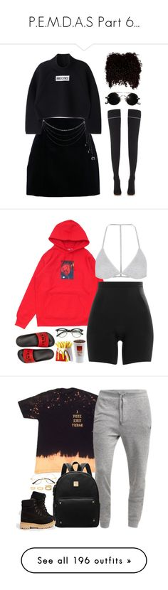 """""""P.E.M.D.A.S Part 6..."""" by slickpoet ❤ liked on Polyvore featuring Vetements, Carven, SPANX, Givenchy, Topshop, Forever 21, ASOS, The North Face, HTC and NIKE"""