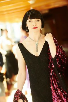 "Essie Davis as Phryne""Miss Fisher's Murder Mysteries Season3"