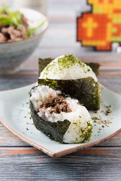Miso Beef Onigiri (rice ball). This recipe is inspired by the new Zelda game. Thinly sliced beef cooked with miso, ginger and garlic, then stuffed inside rice balls. Satisfying quick bite for lunch orpicnic. Onigiri is Japanese rice ball. It is a ball of steamed rice formed into a triangle shape, stuffed with filling and...Read More »